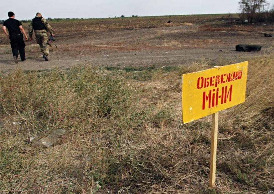 Это уже четвертый случай травмирования гражданских жителей Луганщины с начала года / фото facebook.com/YuriiHarbuz