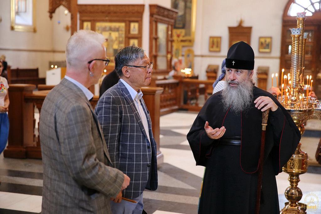 Посол Японії відвідав Святогірську лавру / svlavra.church.ua