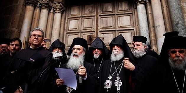 Трое церковных лидеров Святой Земли направили израильскому премьеру письмо по поводу спорного законопроекта / sedmitza.ru