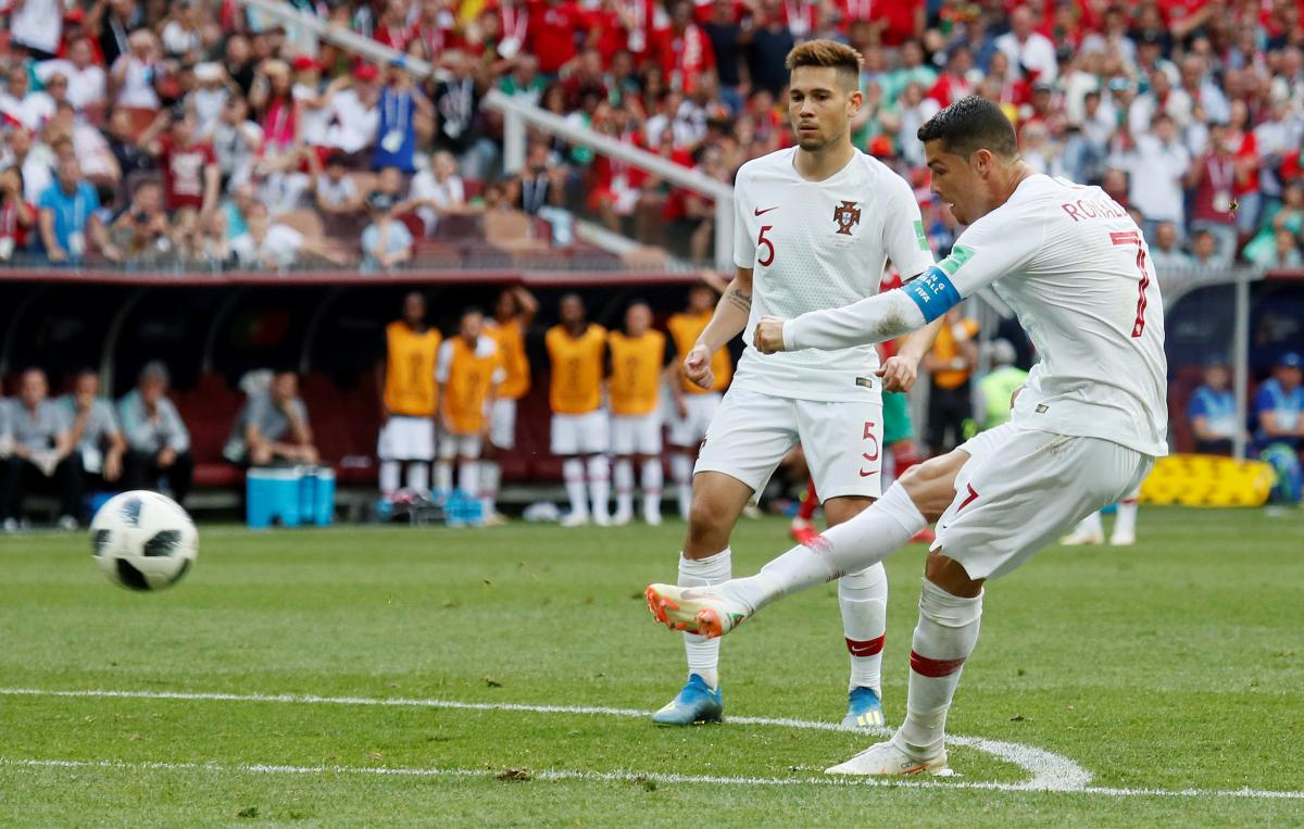 Роналду забил уже четыре гола на ЧМ-2018 / Reuters