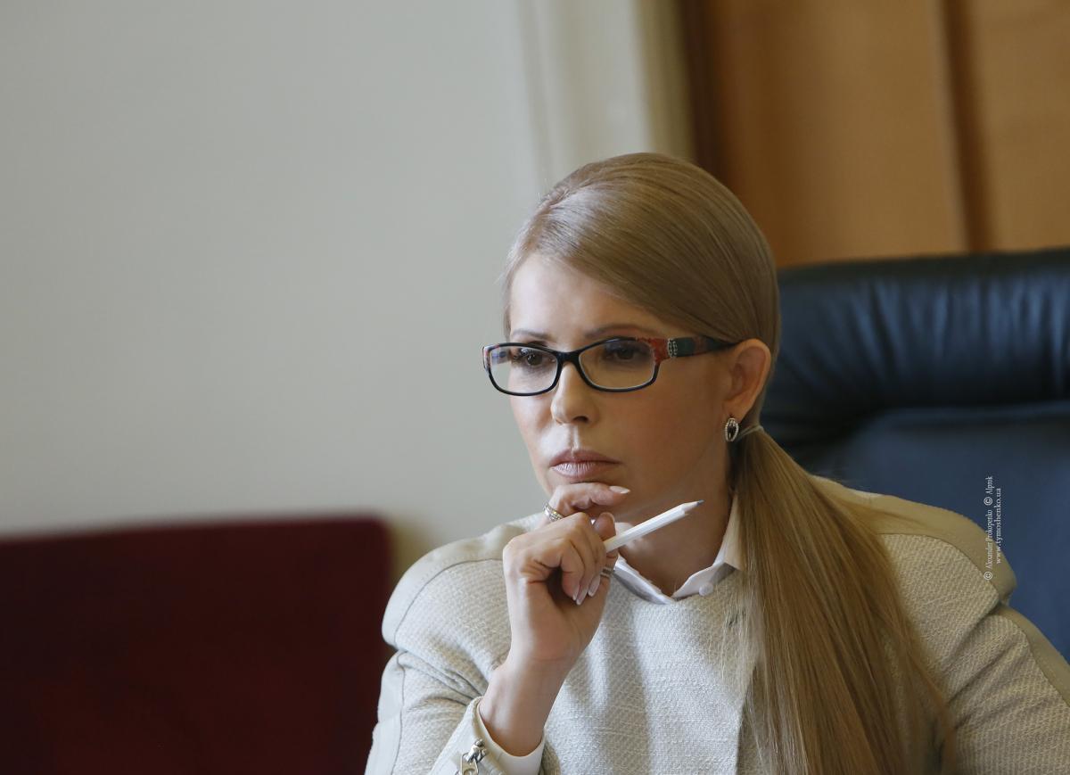 Тимошенко будет баллотироваться в президенты / Photo by Alexander Prokopenko
