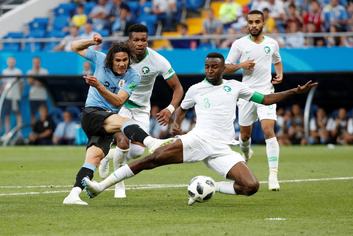 Збірна Уругваю переграла команду Саудівської Аравії в матчі ЧС-2018 / Reuters