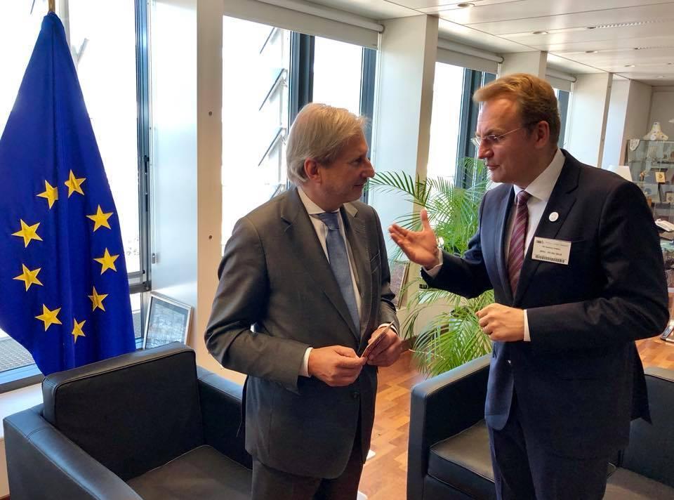 Украина должна делать предложения ЕС, а не только просить и требовать, говорит Садовый/ facebook.com/andriy.sadovyi