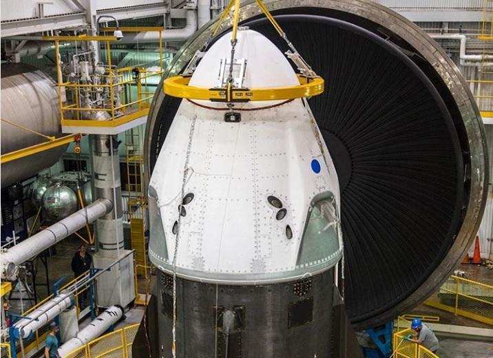 После завершения тестов корабль доставят в Космический центр Кеннеди во Флориде / фото: SpaceX / Instagram
