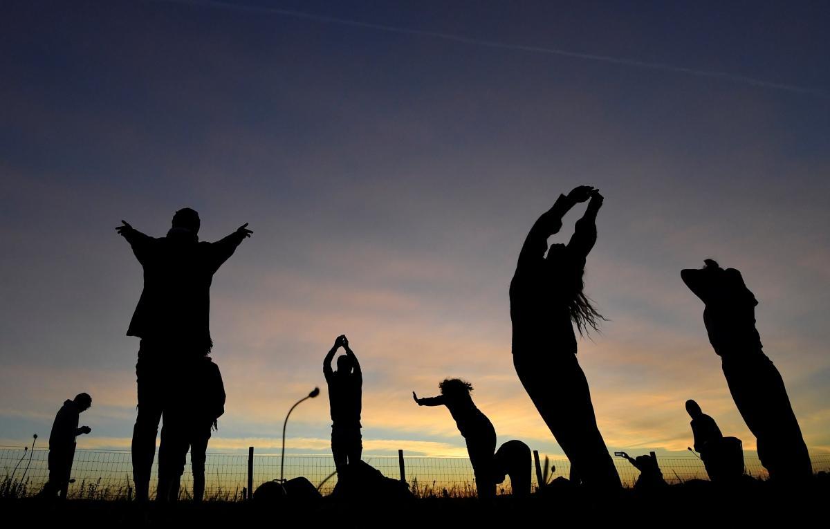 21 июня Международный день йоги / Иллюстрация REUTERS