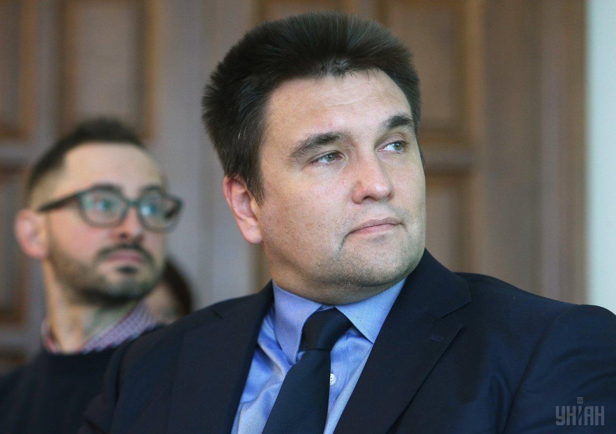 Министр иностранных дел Украины Павел Климкин / фото УНИАН