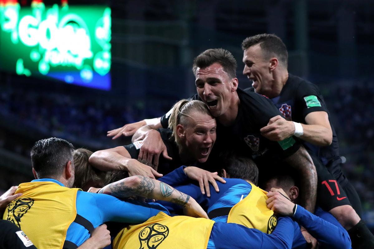 Хорваты разгромили аргентинцев в матче ЧМ-2018 / Reuters