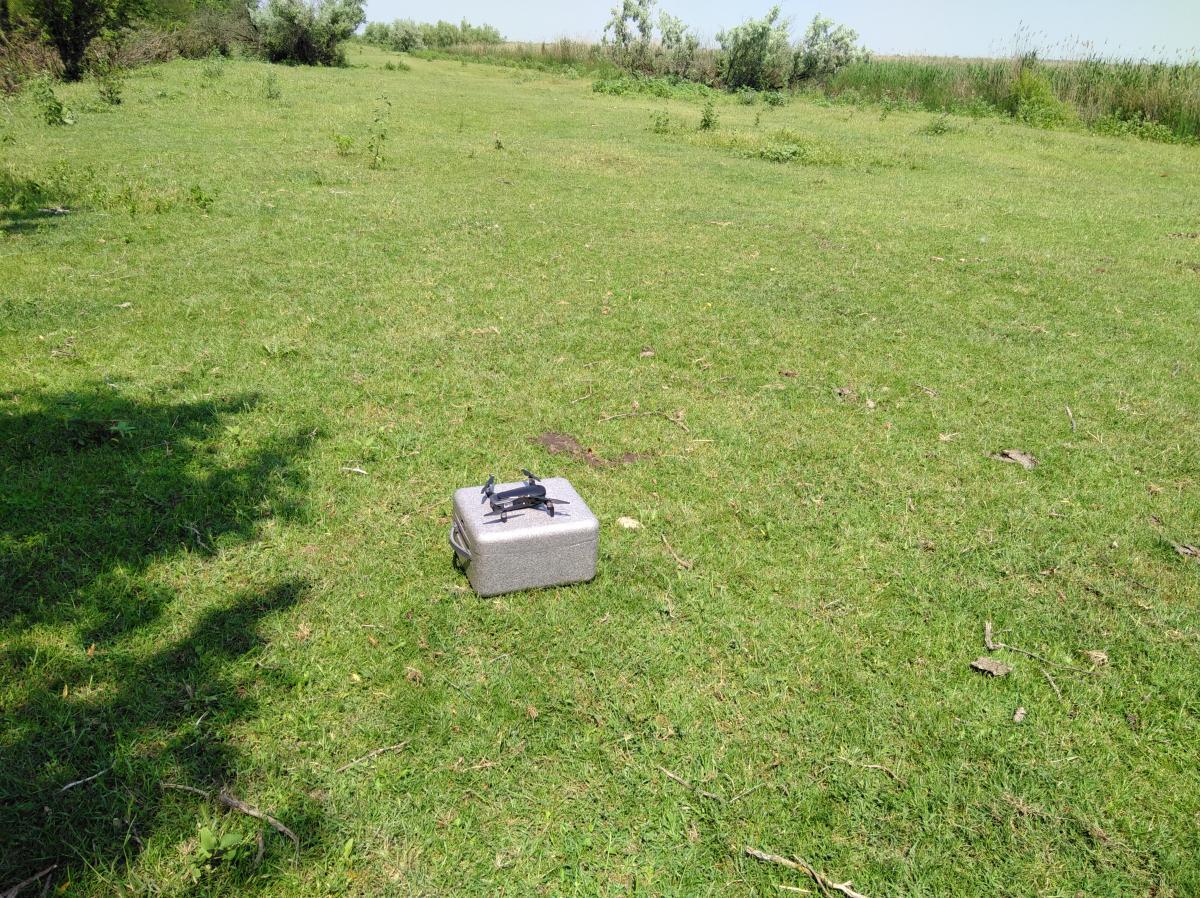 Завдяки дронам було оглянуто недоступні внутрішні частини острову, досліджено їх ландшафт і загальний стан / фото УНІАН