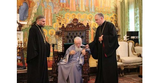 Конференцию посетил Предстоятель Грузинской Православной Церкви Илия II / blagovest-info.ru