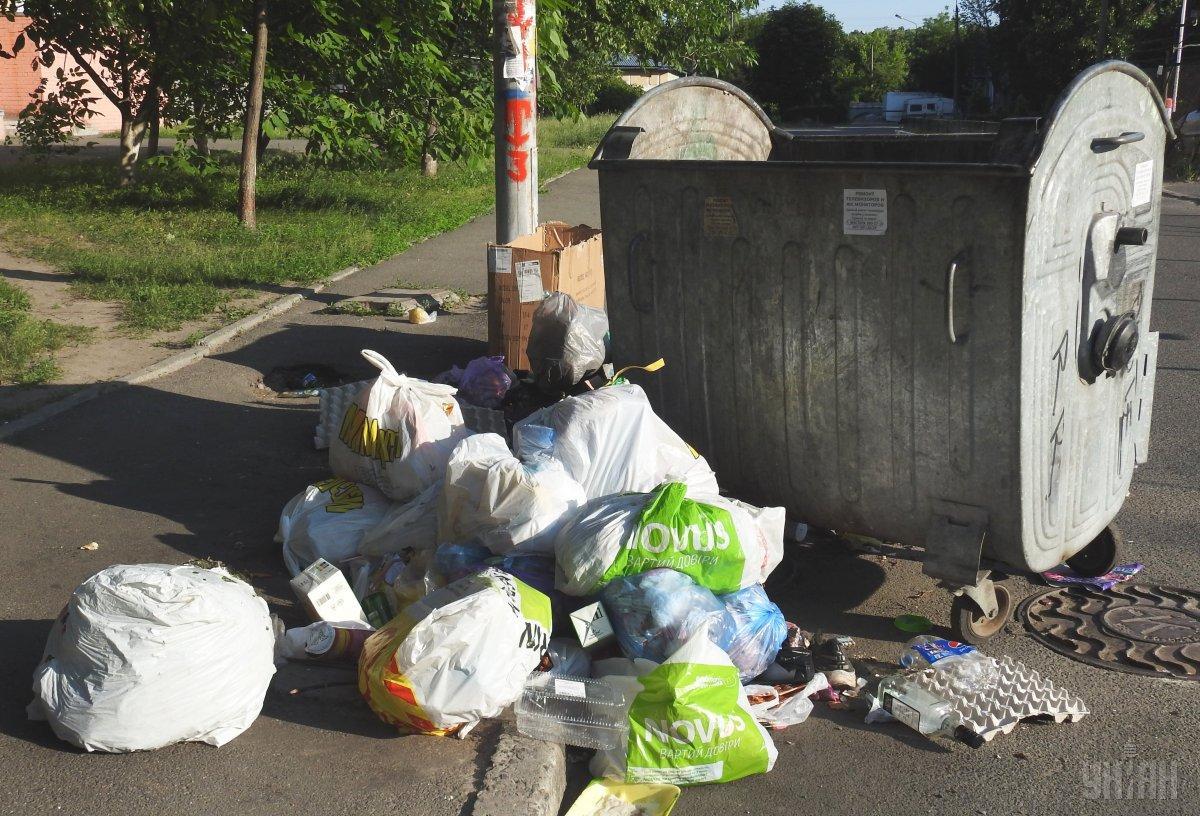 Украина входит в десятку государств мира с наибольшим объемом мусора на одного жителя / фото УНИАН
