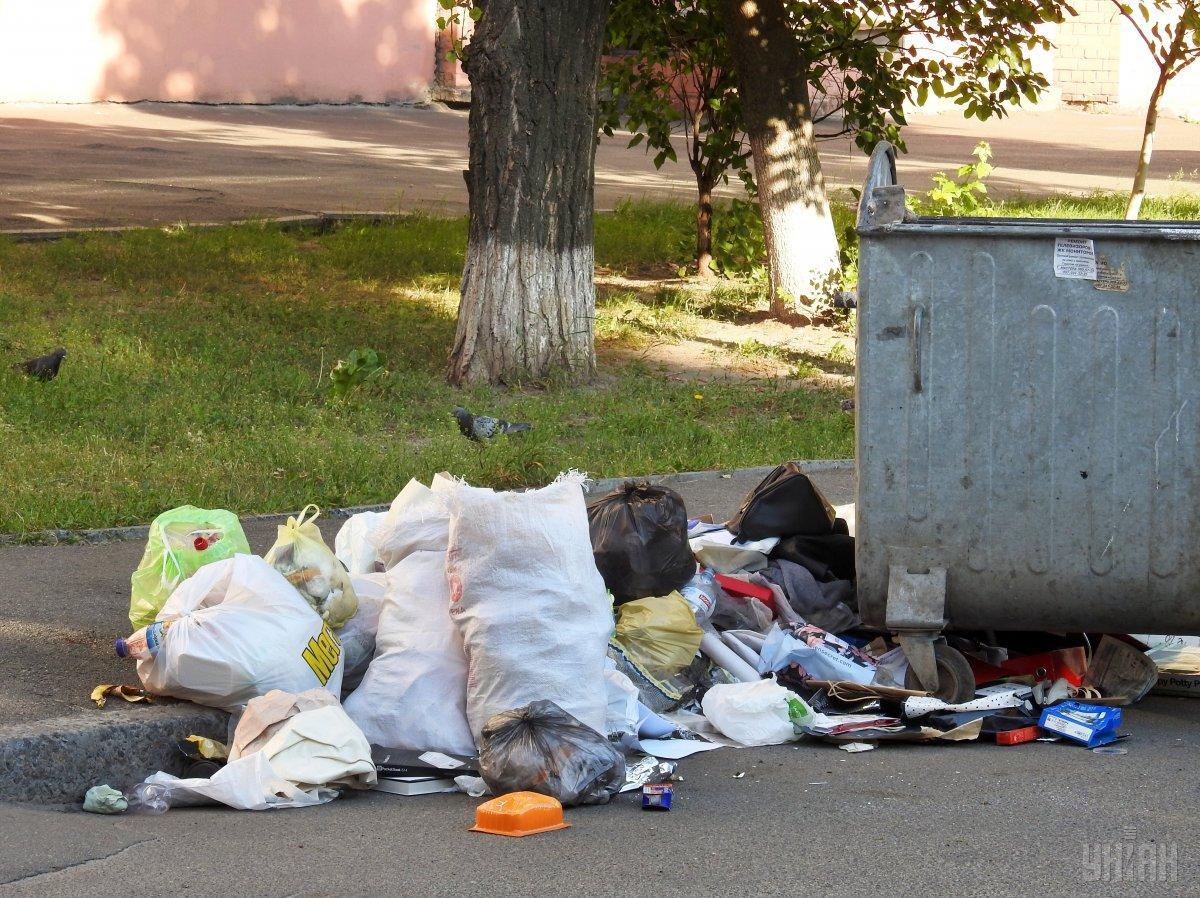 Сегодня стоимость захоронения тонны мусора - всего 120 грн / фото УНИАН