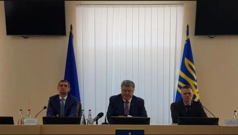 Порошенко представил нового руководителя Донецкой ОВГА/ скрин видео