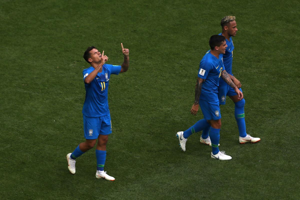 Бразилия все-таки дожала команду Коста-Рики в матче ЧМ-2018 / Reuters