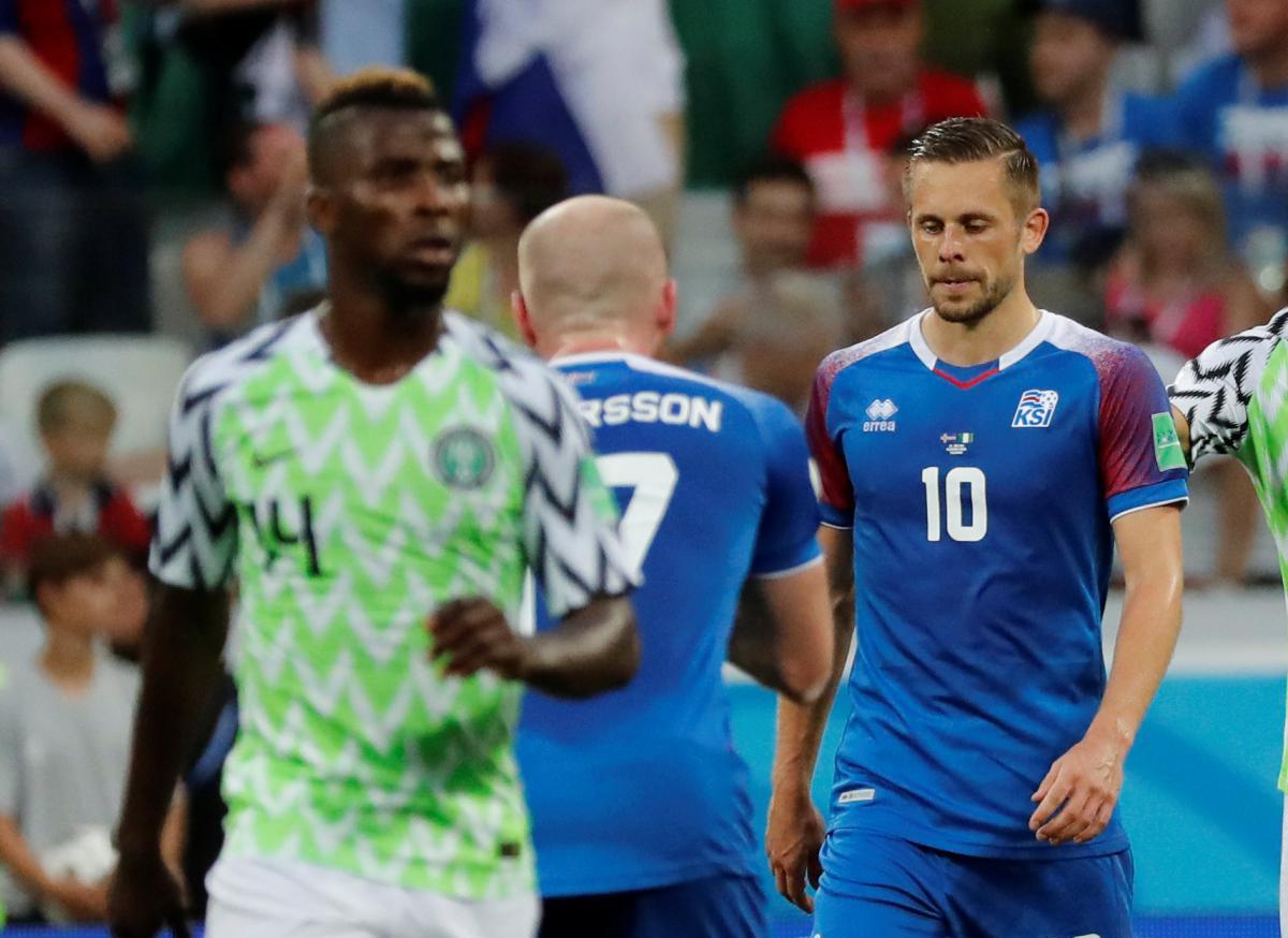"""Сборная Исландии не смогла справиться с """"Черными Орлами"""" из Нигерии / Reuters"""