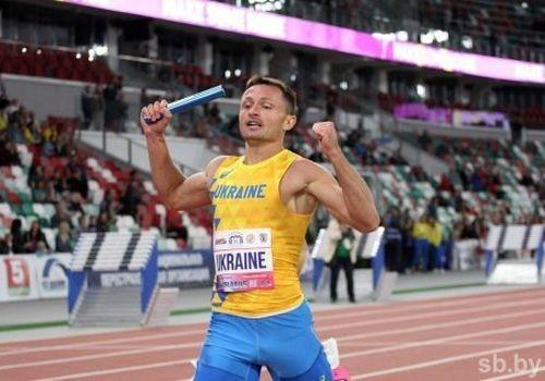 Українці перемогли в змішаній естафеті 4х400 метрів в Мінську / uaf.org.ua