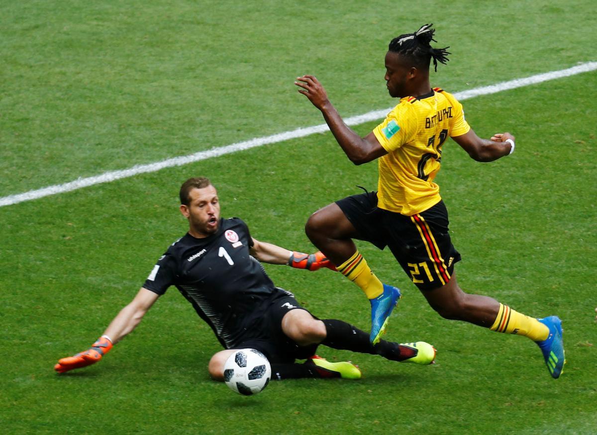 Збірна Бельгії розгромила команду Тунісу в матчі ЧС-2018 / Reuters