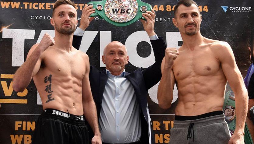 Постол (справа) не сможет сразиться за титул чемпиона WBC / Isport