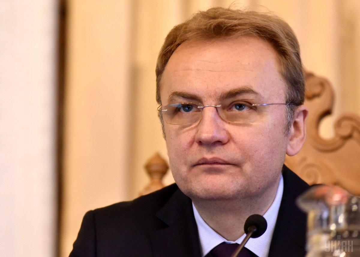 На аудиозаписи голос мэра Львова Садового обвиняет Гандзюк в коррупции / фото УНИАН