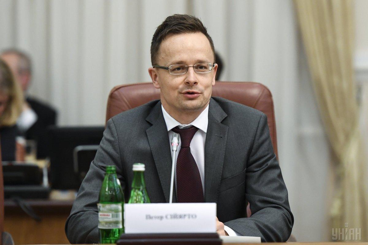 Петер Сийярто отметил, что Будапешт будет защищать свои национальные меньшинства от кого-угодно / УНИАН