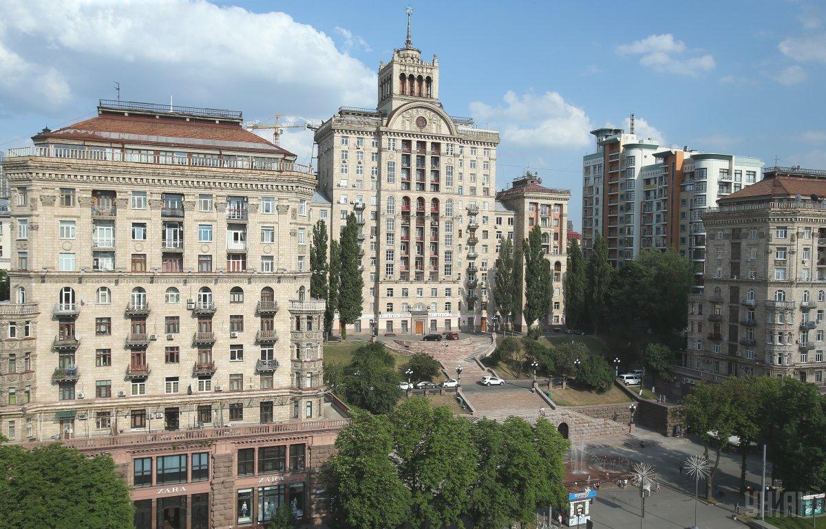 На крыше ЦУМ можно будет послушать классику с видом на Крещатик / Фото УНИАН