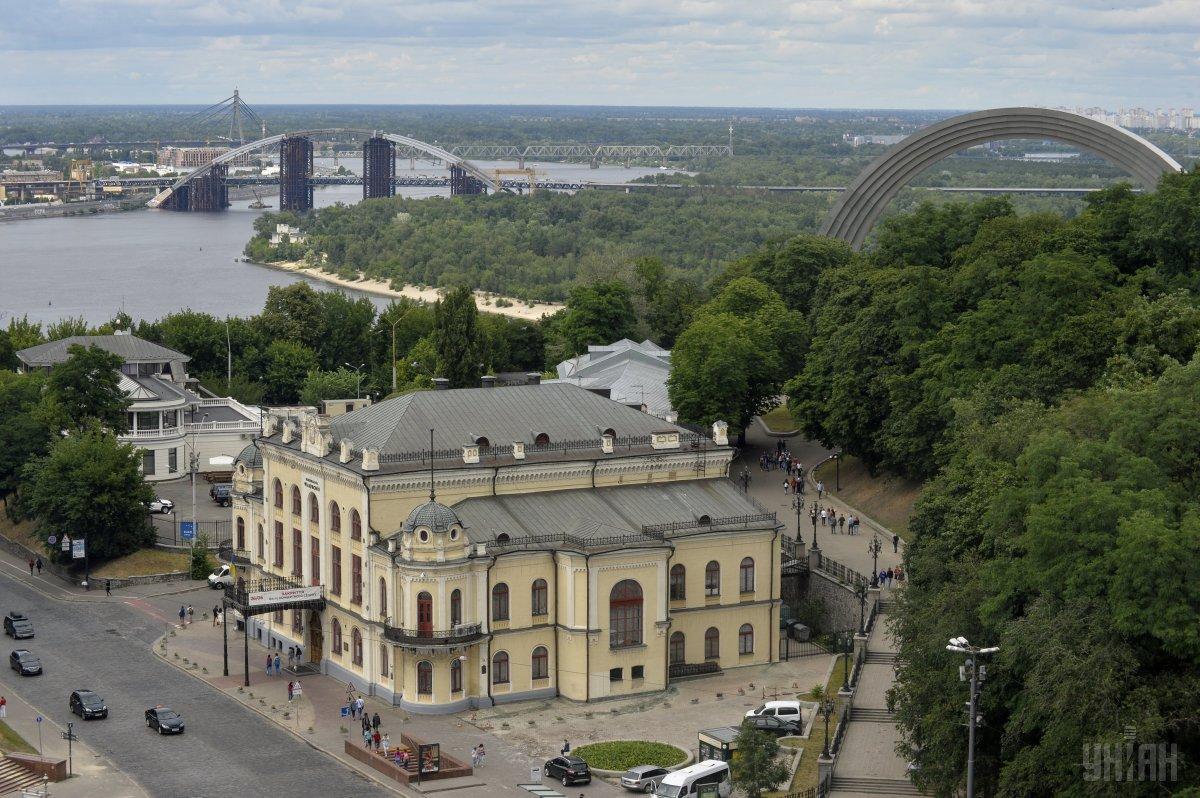 64 года назад власти Киева позаботилисьо зеленых насаждениях вокруг города / Фото УНИАН