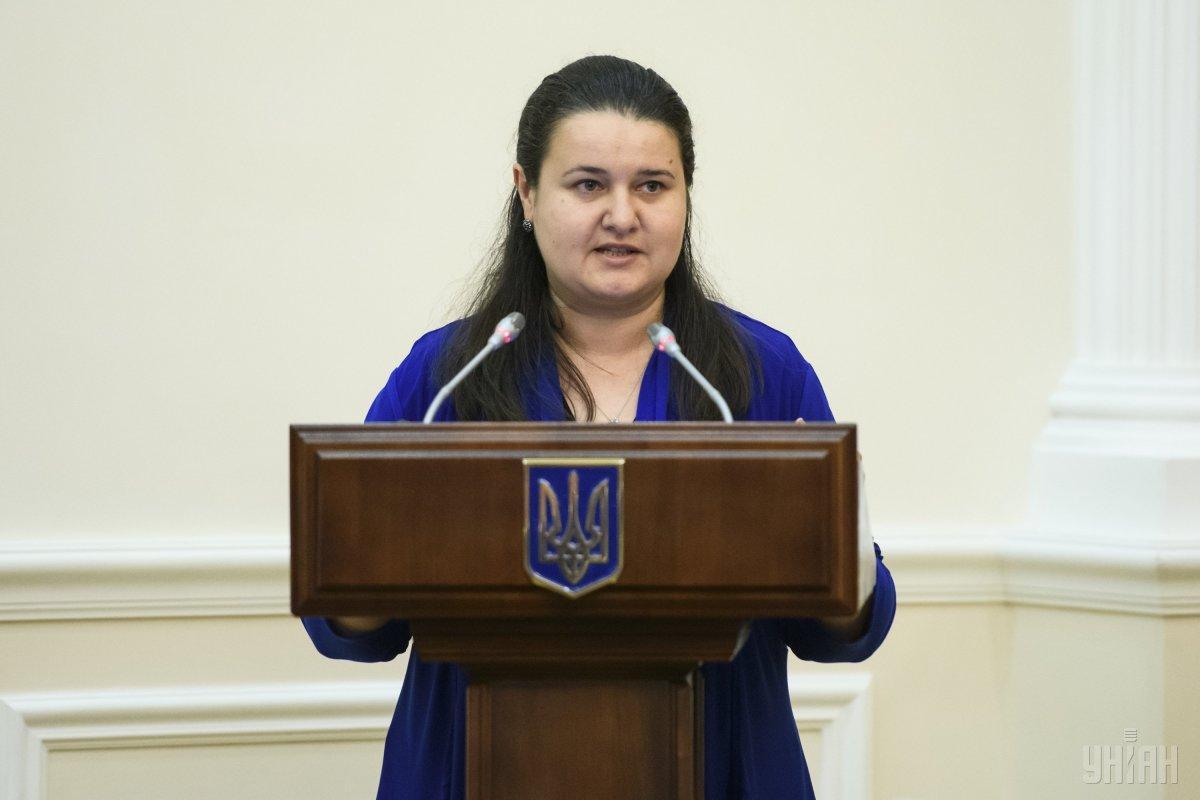 Маркарова з 7 червня виконувала обов'язки міністра фінансів / фото УНИАН