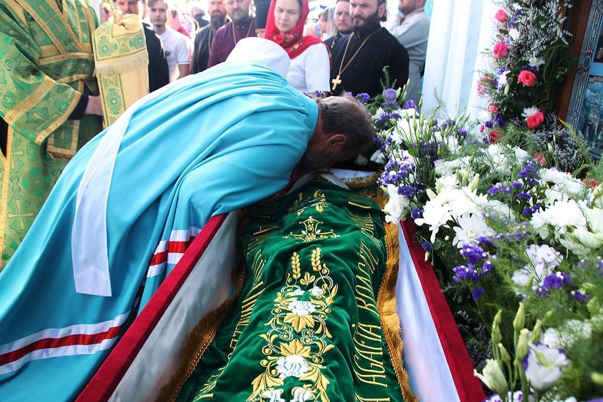 Православные Молдовы отметили день памяти святой блаженной Агафии Кушеловской / ru.mitropolia.md
