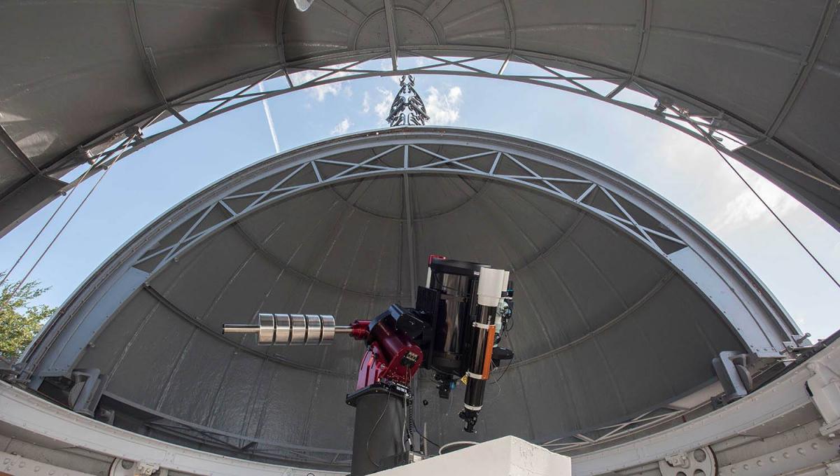 Новый телескоп в Королевской обсерватории в Гринвиче / фото facebook.com/royalmuseumsgreenwich