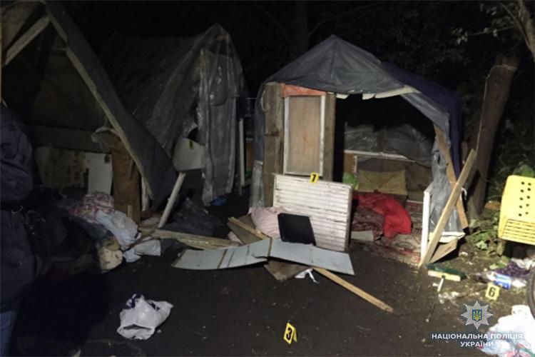 На лагерь ромов напали в ночь на 24 июня / фото Нацполіції