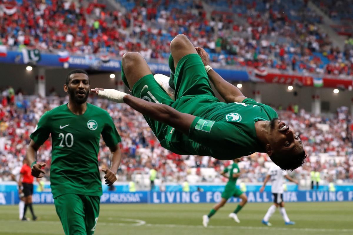 Саудовская Аравия сенсационно обыграла Египет / REUTERS