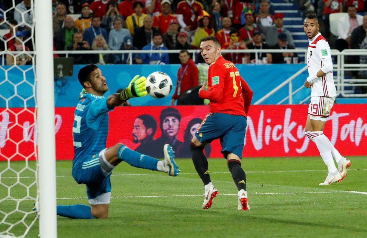 Іспанія - Марокко / REUTERS