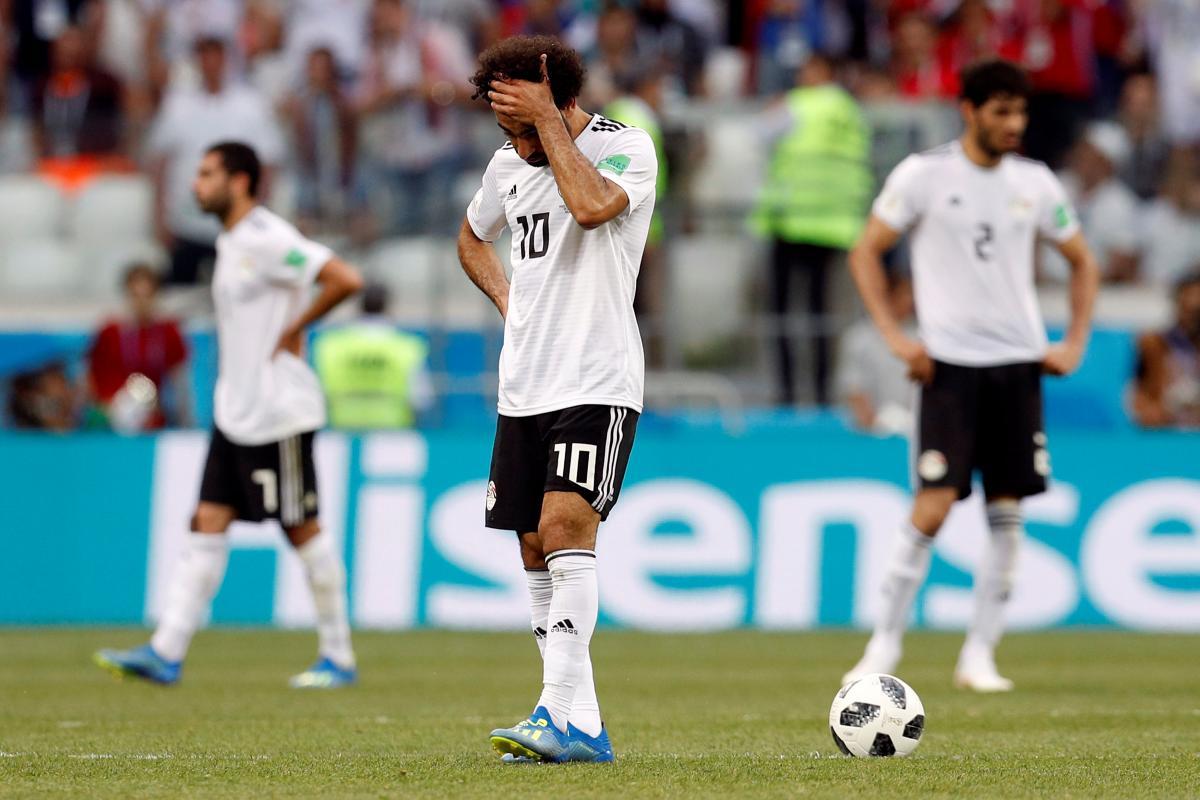 Сборная Египта проиграла все три матча на ЧМ-2018 / REUTERS