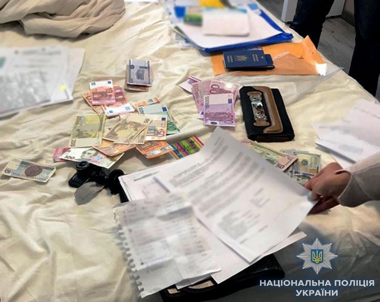 """Обыски по футбольным """"договорнякам"""" проводятся в 11 регионах Украины / Официальный сайт Национальной полиции"""