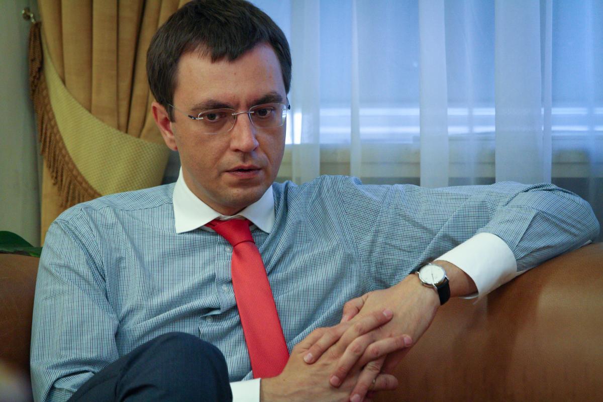 Омелян розповів про свої досягнення за три роки на посаді міністра / фото УНІАН