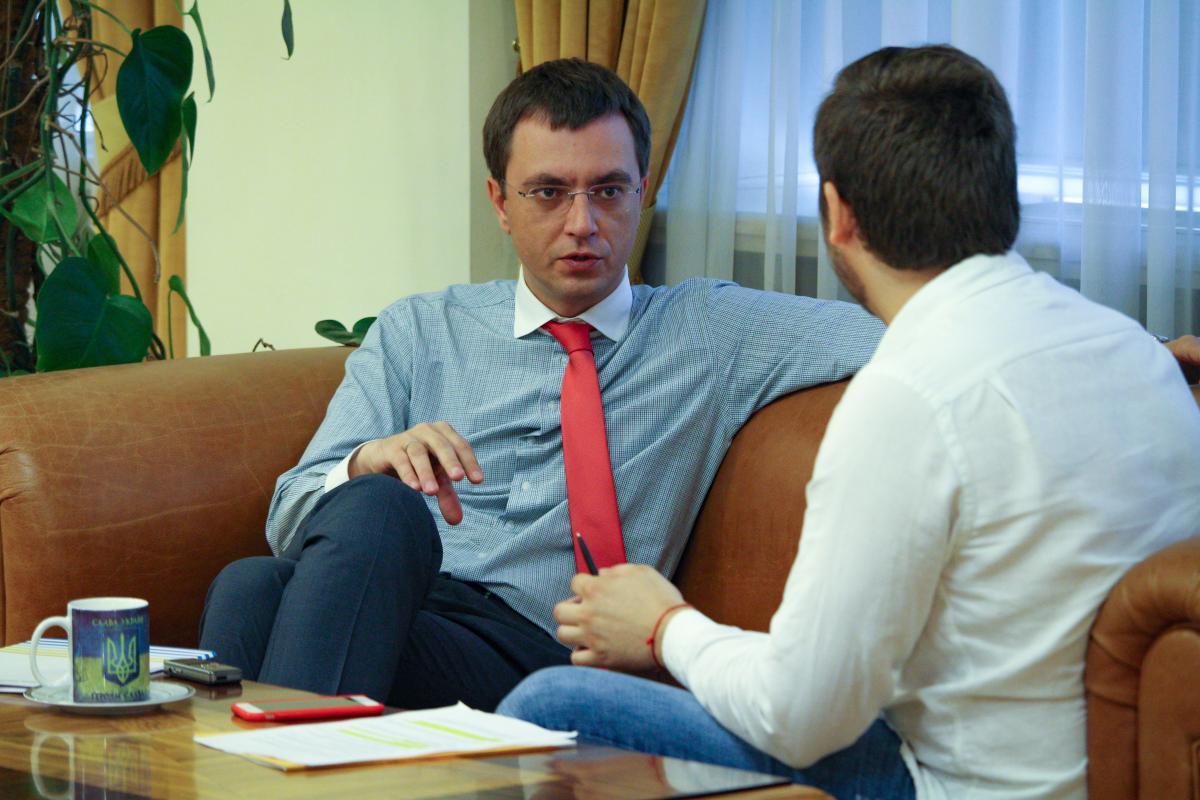 Омелян рассказал, когда могут начать строительство евроколии из Львова / фото УНИАН