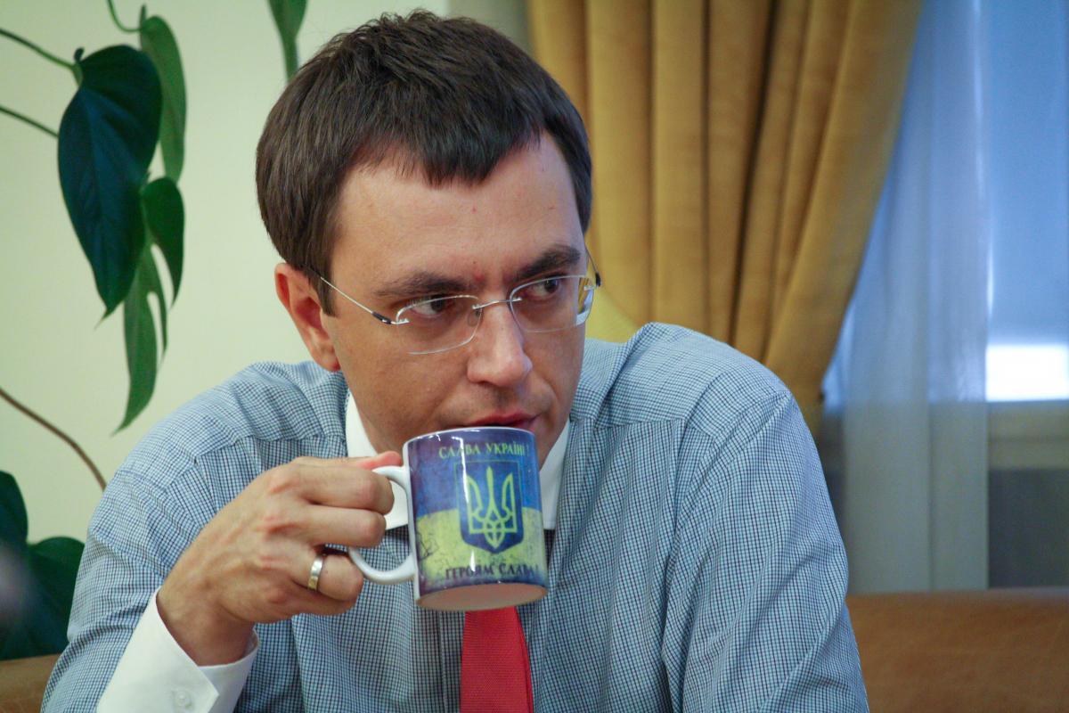 Міністр інфраструктури України Володимир Омелян / фото УНІАН