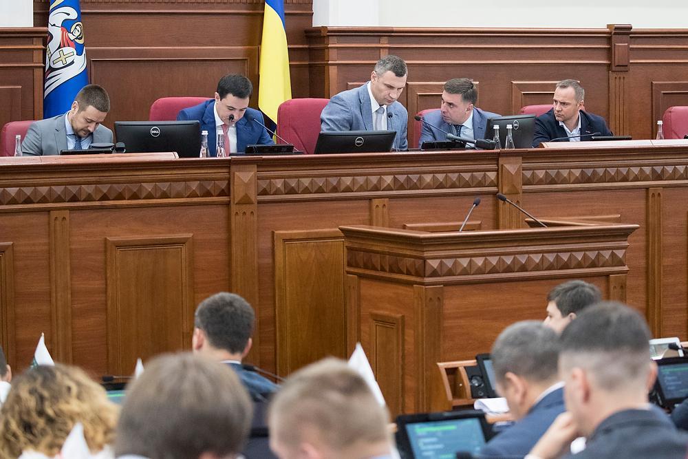 Кличко убедил депутатов Киевсовета принять детальный план территорий Троещины / kiev.klichko.org