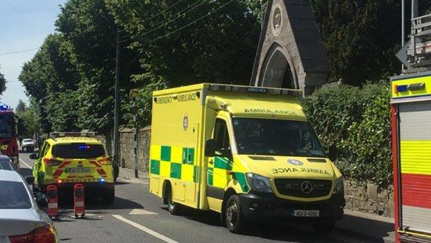 Автомобіль наїхав на пішоходів у Дубліні / RTE
