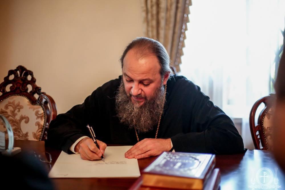 АрхиереиУПЦ приняли участие во всеукраинском проекте создания рукописной Библии / foma.in.ua