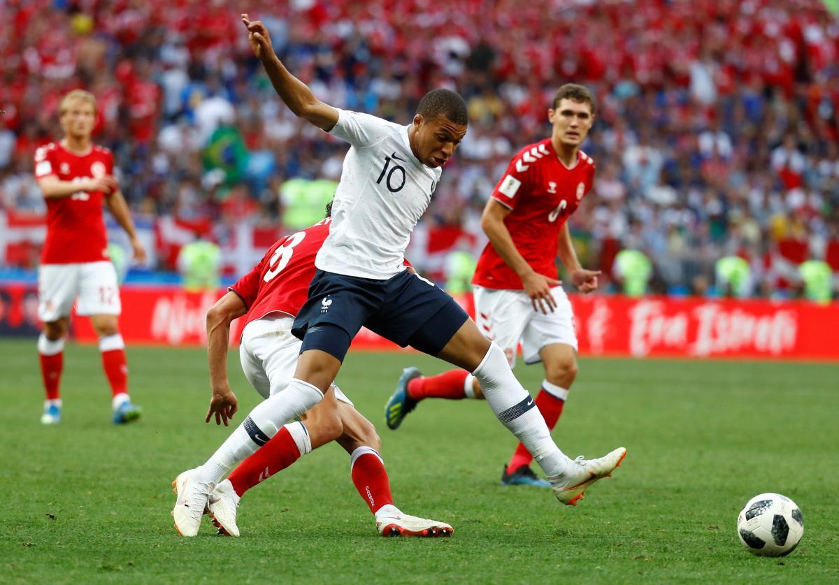 Данія - Франція - 0:0 / REUTERS