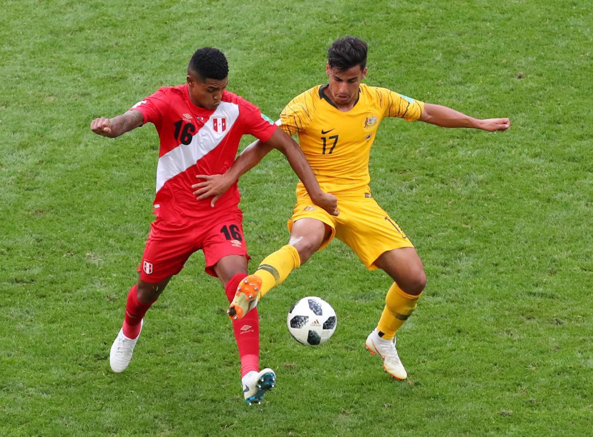 Австралия - Перу / REUTERS