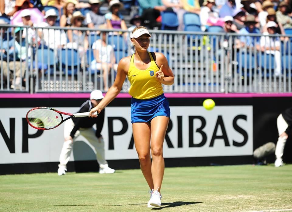 Прошлогодней сенсации Australian Open 16-летней тинейджерке Марте Костюк до выхода в основу оставалось сделать всего лишь шаг, однако она сошла с дистанции / ФТУ