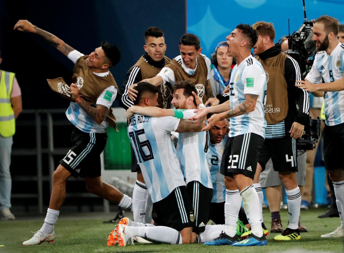 Нигерия - Аргентина - 1:2 / REUTERS