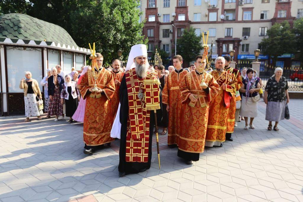 В Запорожье помолились о жертвах политических репрессий / hramzp.ua
