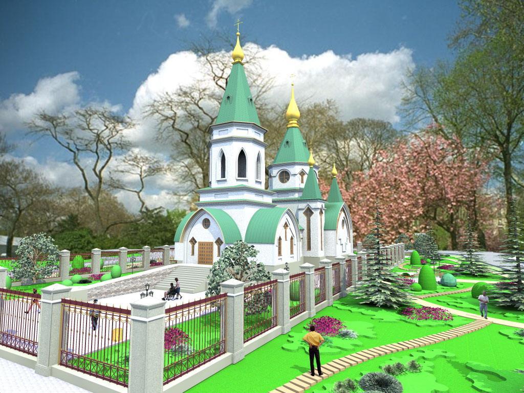 Ескізний проект майбутнього храму