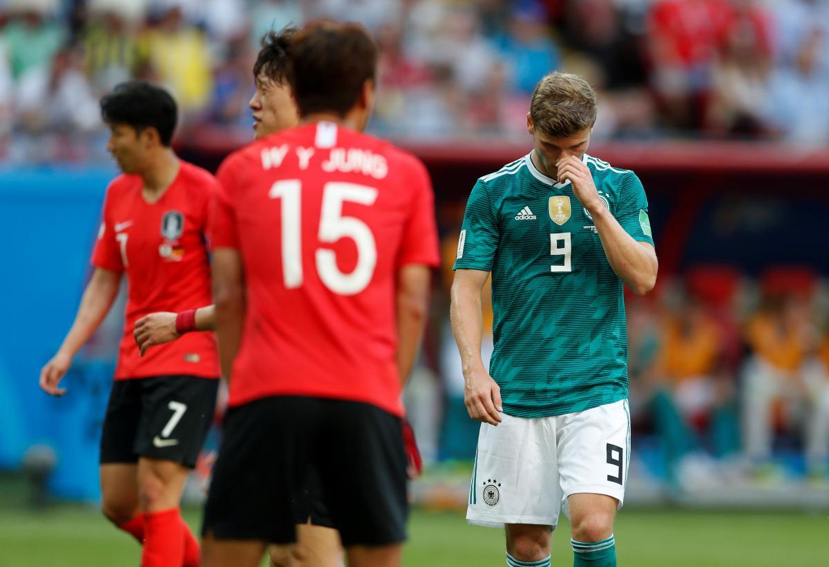 Германия не попала в плей-офф ЧМ-2018 / Reuters