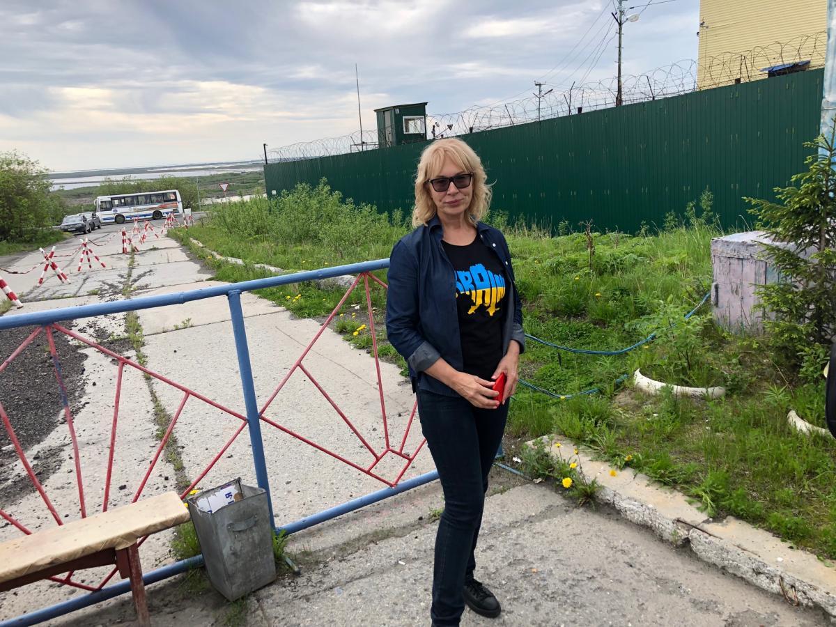 Денисова рассказала о ключевойцелисвоей поездки в РФ / фото Роман Цимбалюк