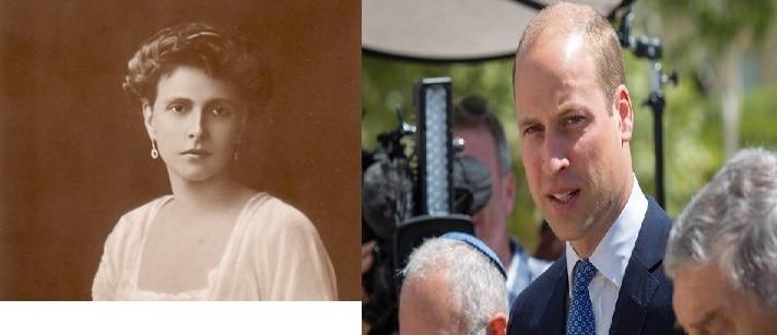 Принцесса Элис и ее правнук принц Уильям / Википедия