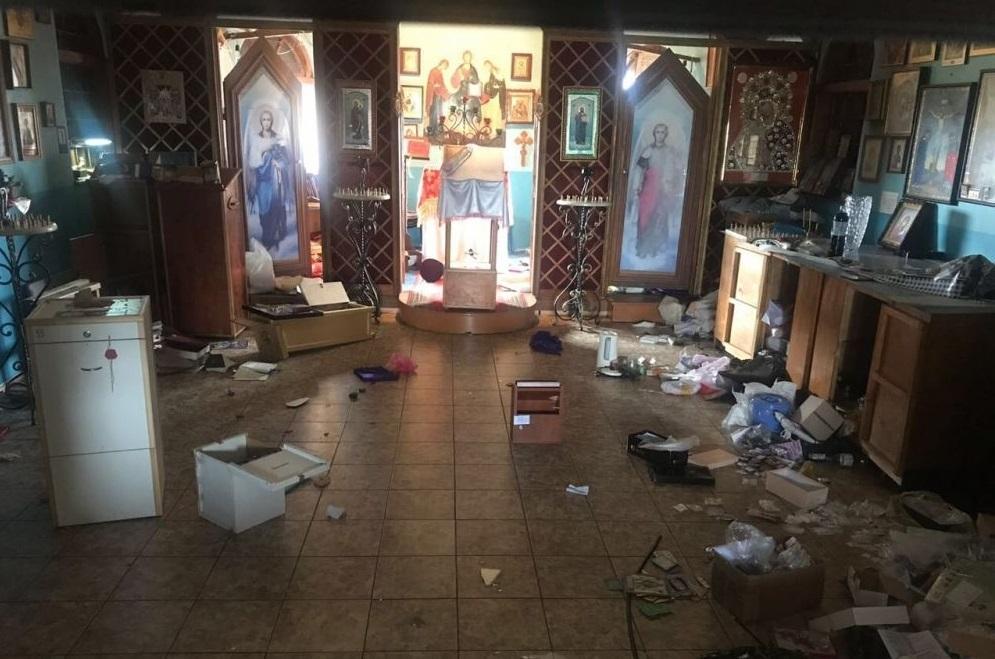 Вновь был ограблен и осквернён храм в Одесской епархии УПЦ / eparhiya.od.ua/