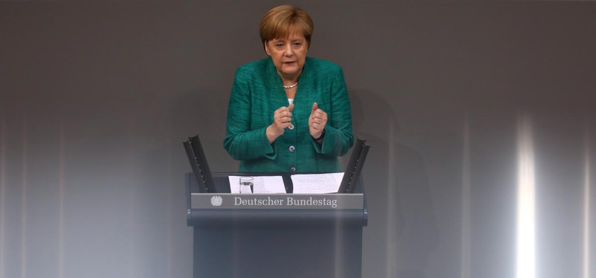 Канцлер ФРГ Ангела Меркель / REUTERS